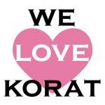 "Fanpage ""We love korat โคราช"" จำนวน 11,876 Like"